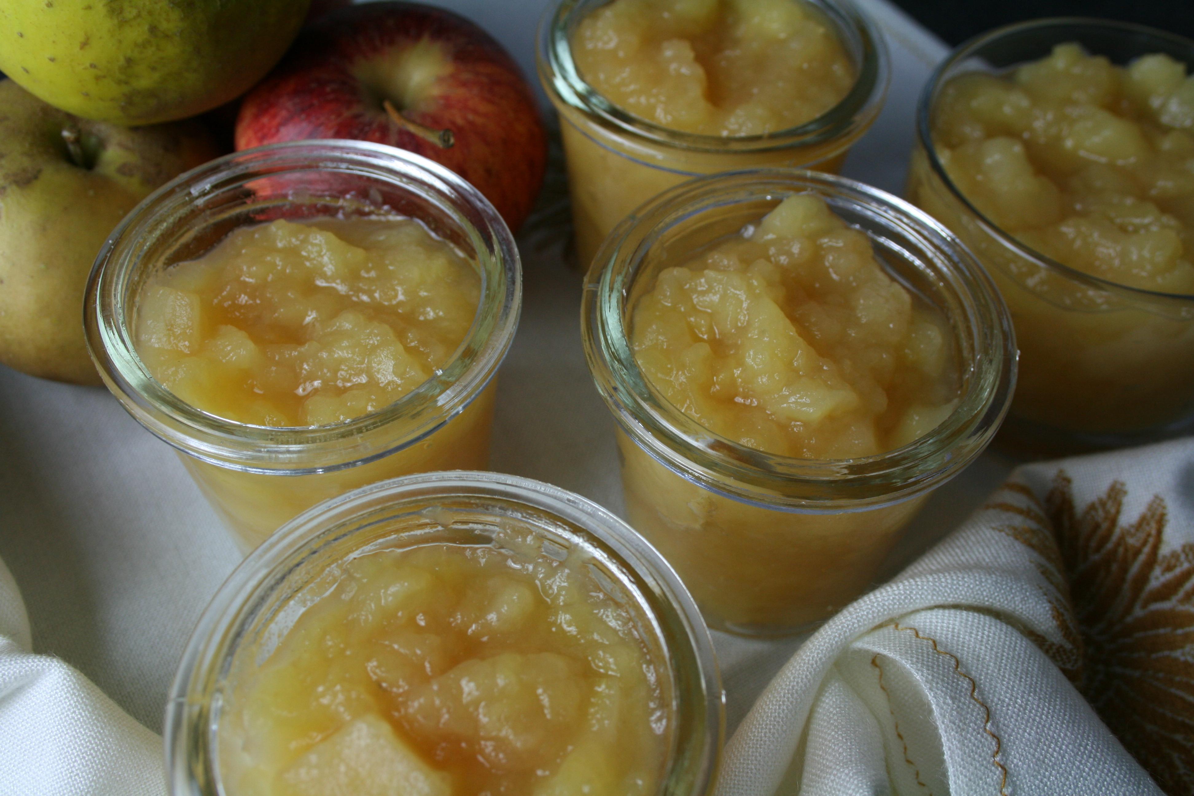 Compote de Pommes au Miel d'Acacia
